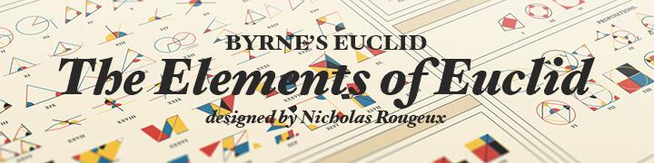 Byrne's Euclid - Elementos de Euclides